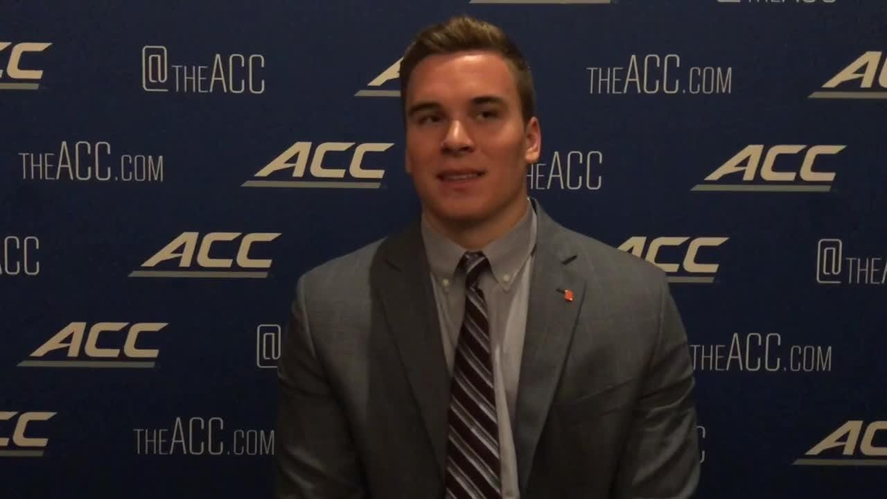 Syracuse quarterback Eric Dungey says he's excited for the challenger of playing Clemson in its own backyard.