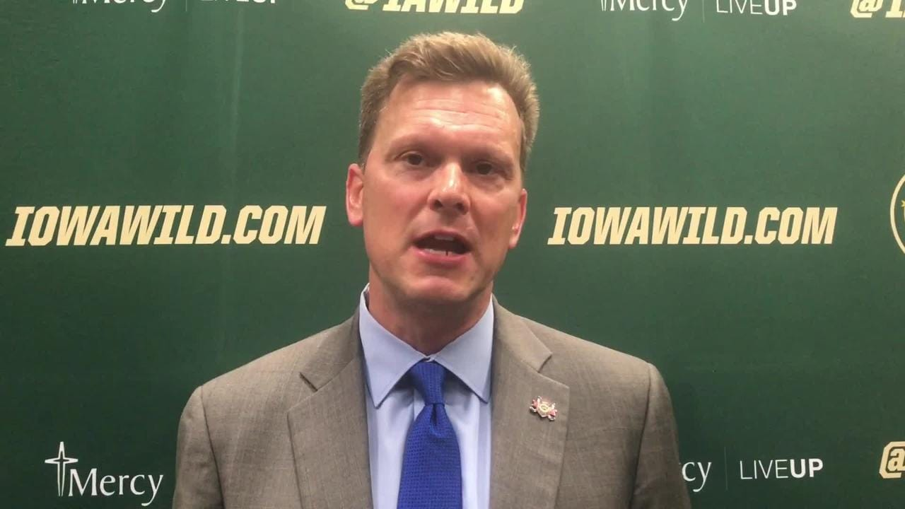 New Iowa Wild coach Tim Army says he wants to get his team to the playoffs