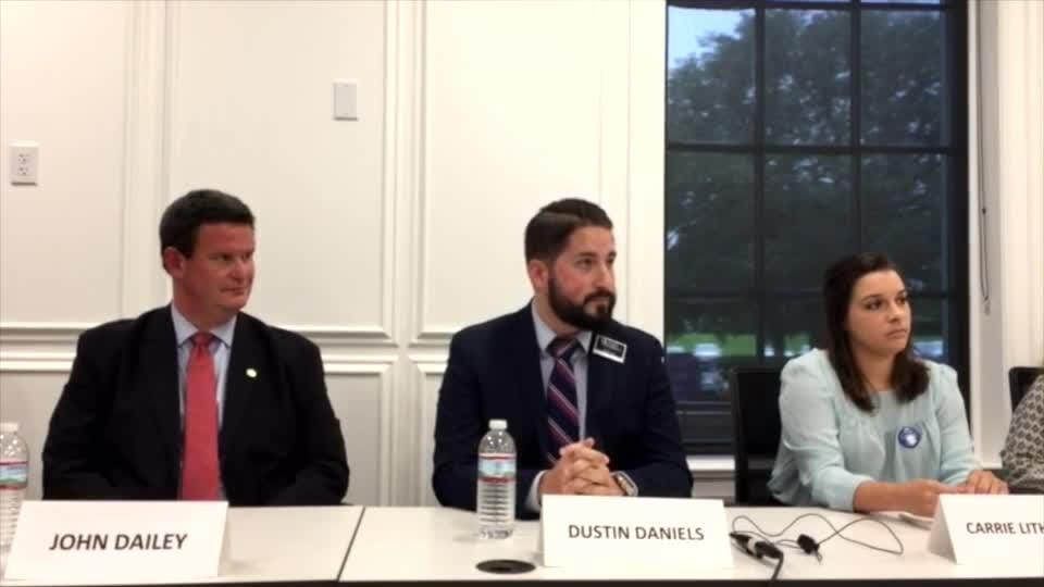Dustin Daniels describes interaction with undercover FBI agents | Video