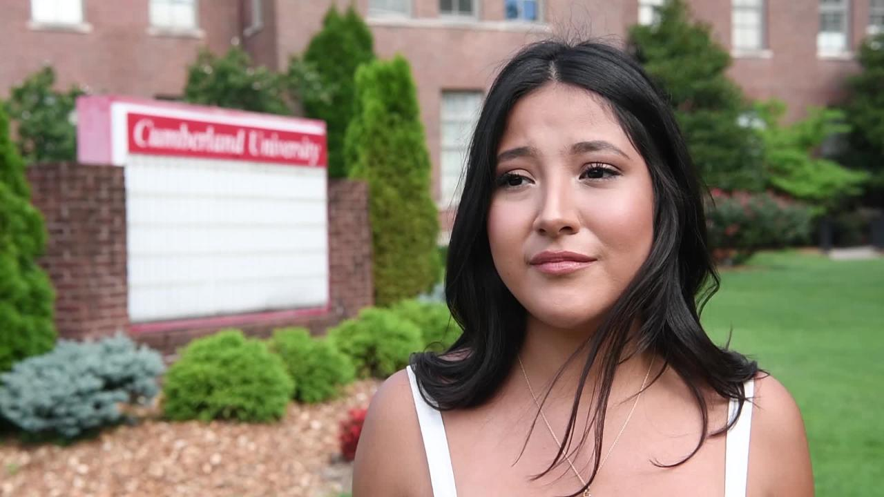 Andrea Chavez is a DACA student going to school because of Republican scholarships