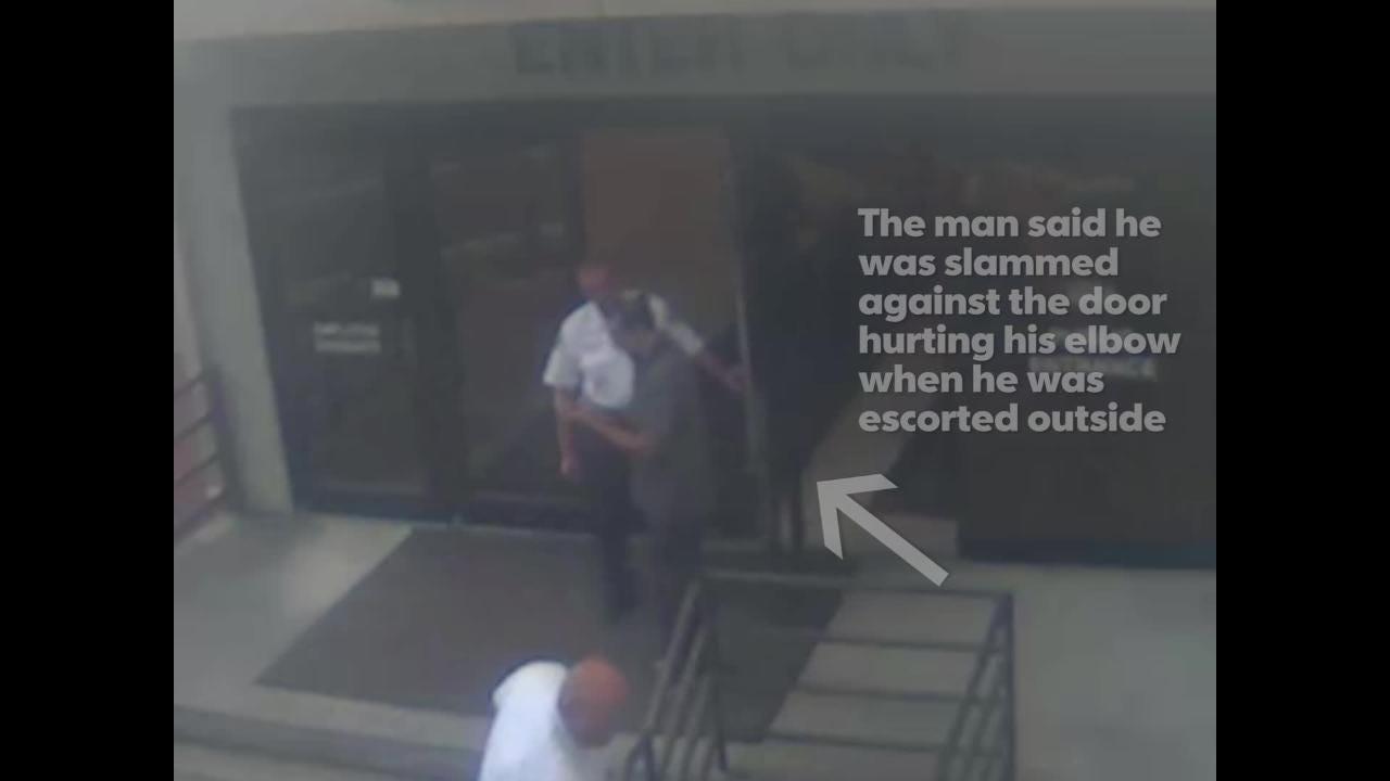 A juror associated with the Lake Boyz trial was dismissed after an issue with security over a water bottle. The man said he was hurt and embarrassed.