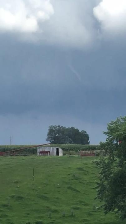 Matt Vandehaar shot this video that shows tornadoes in Bondurant on Thursday, July 19, 2018.