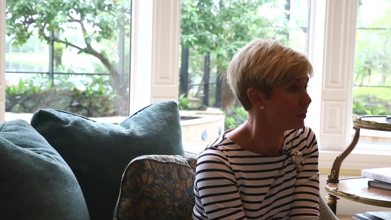 Sandi Moran Comments on Giving Back