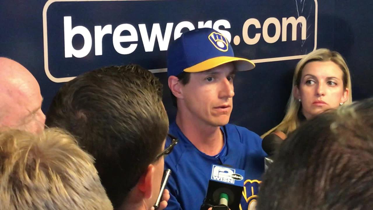 Brewers manager Craig Counsell talks about Josh Hader's offensive tweets and where the pitcher can go from here.