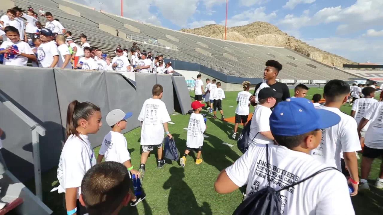Jones Brothers Annual Youth Skills Camp