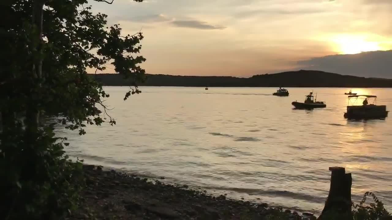 "Crews from multiple agencies are on scene of a ""mass casualty incident"" involving a ""tourist type boat"" on Table Rock Lake, Stone County, Branson. Taney County assisting. Several patients transported to area hospital. Divers on scene."