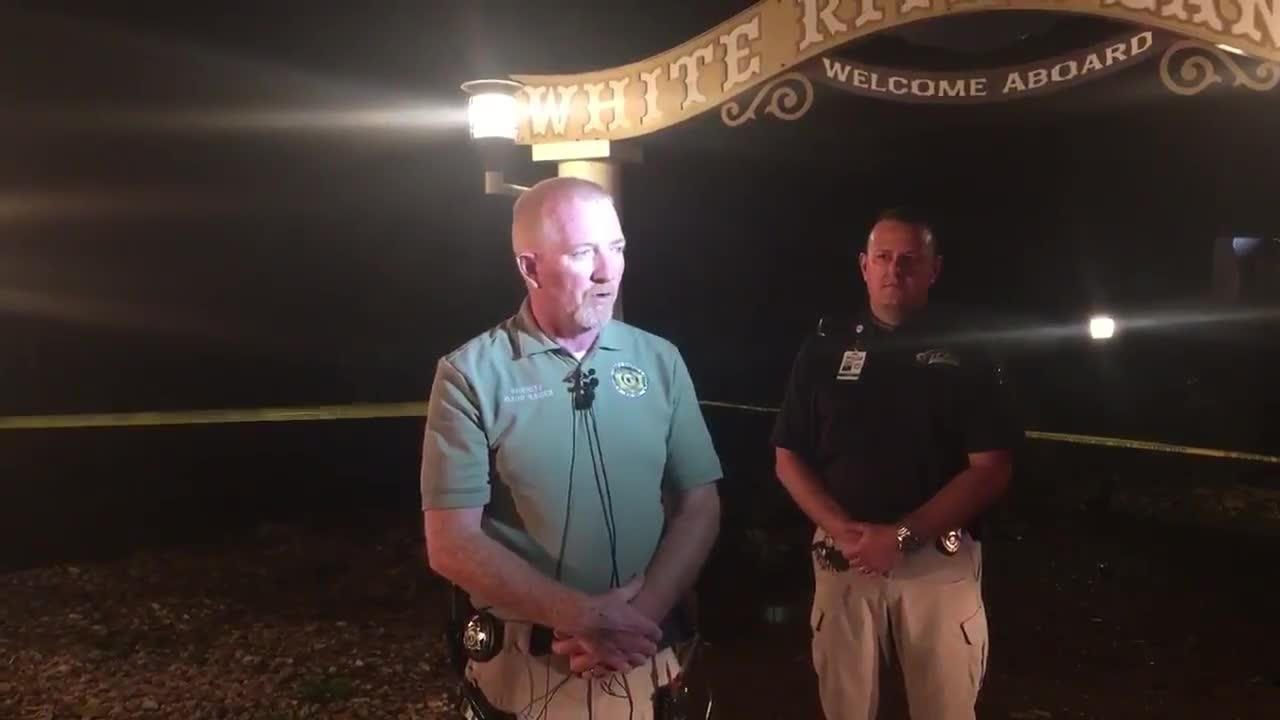 Stone County Sheriff Doug Rader provided the casualty information at about 9:30 p.m. Thursday, July 19, 2018.