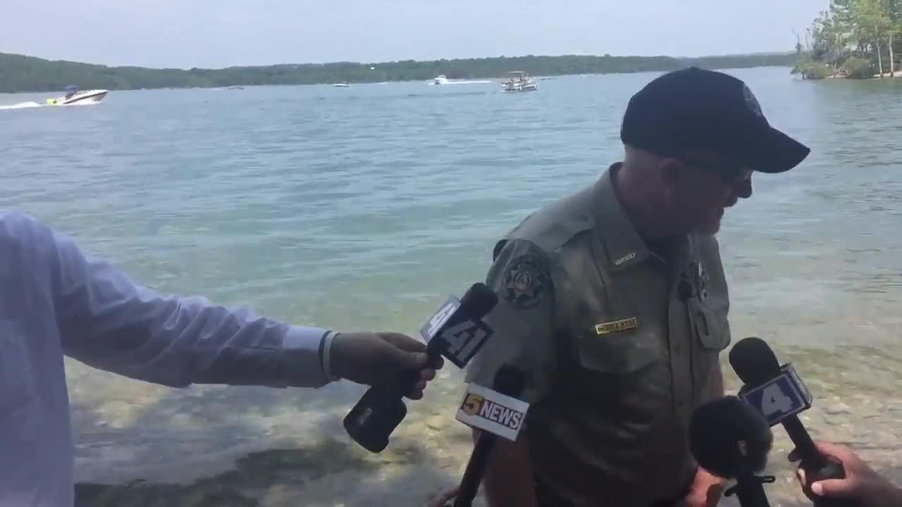 Update from scene where duck boat sank on Table Rock Lake