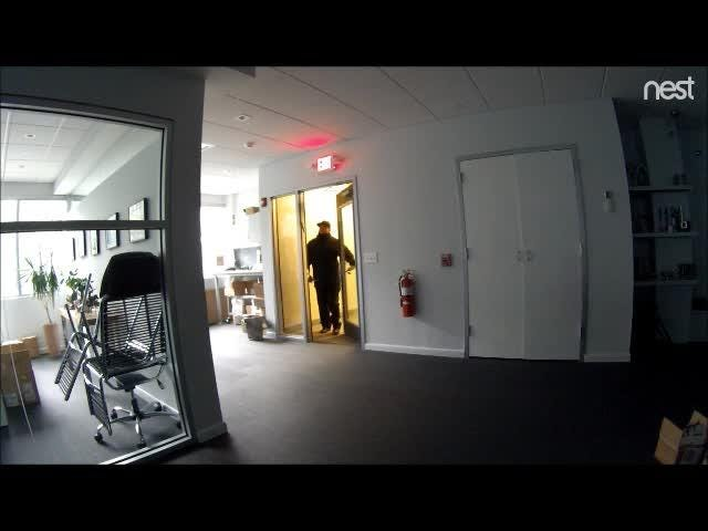 The burglary happened shortly after 9 a.m. Sunday at Amtech International Inc.