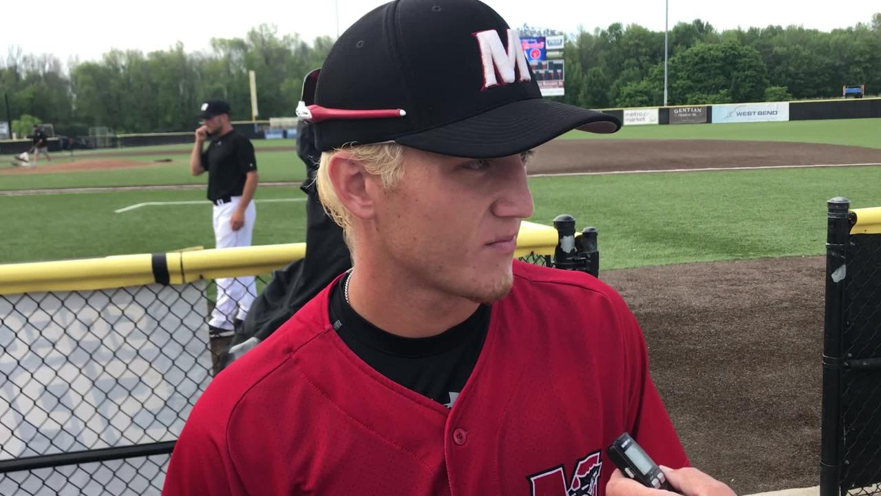 Muskego pitcher Rob Zolecki threw the fifth no-hitter in WIAA summer baseball state history in a 1-0 win over Plymouth.