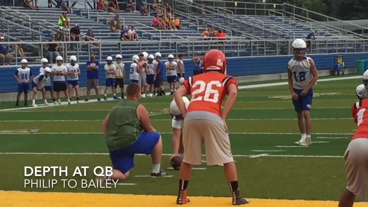Philo hosted Heath, Marietta and Athens in a 7-on-7 passing scrimmage.