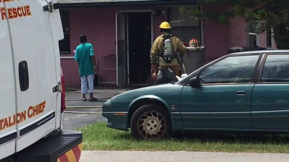 Indian River County Fire Rescue put out a kitchen fire at a home in Gifford late Saturday morning