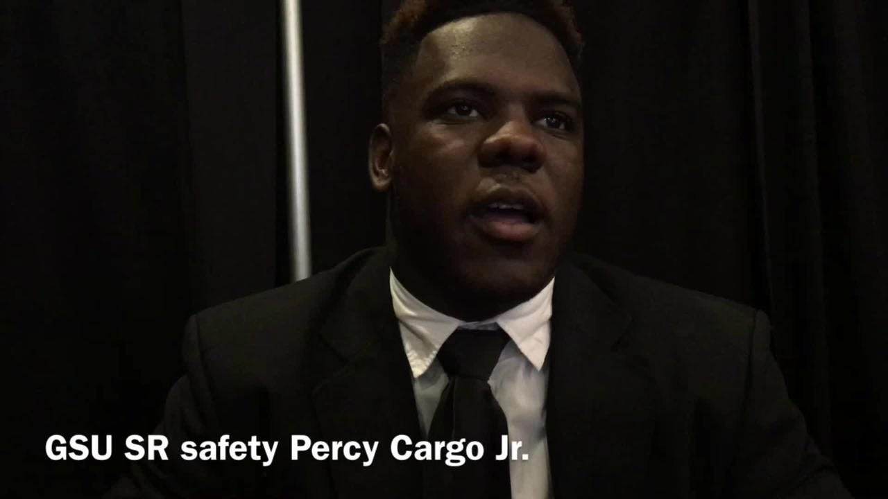 Grambling State senior safety Percy Cargo describes what he brings to the defense.
