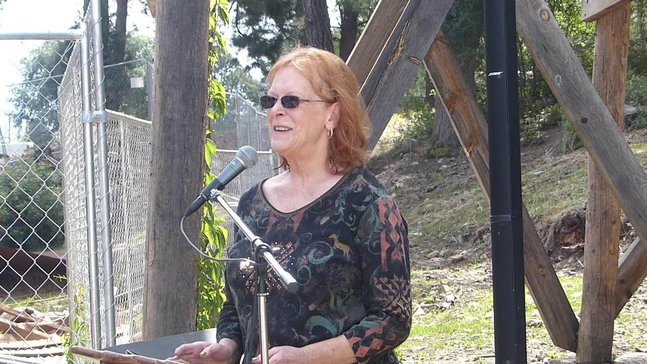 Delan Phillips Clements details how her parents saved the old mill in Ruidoso during a 150-year celebration