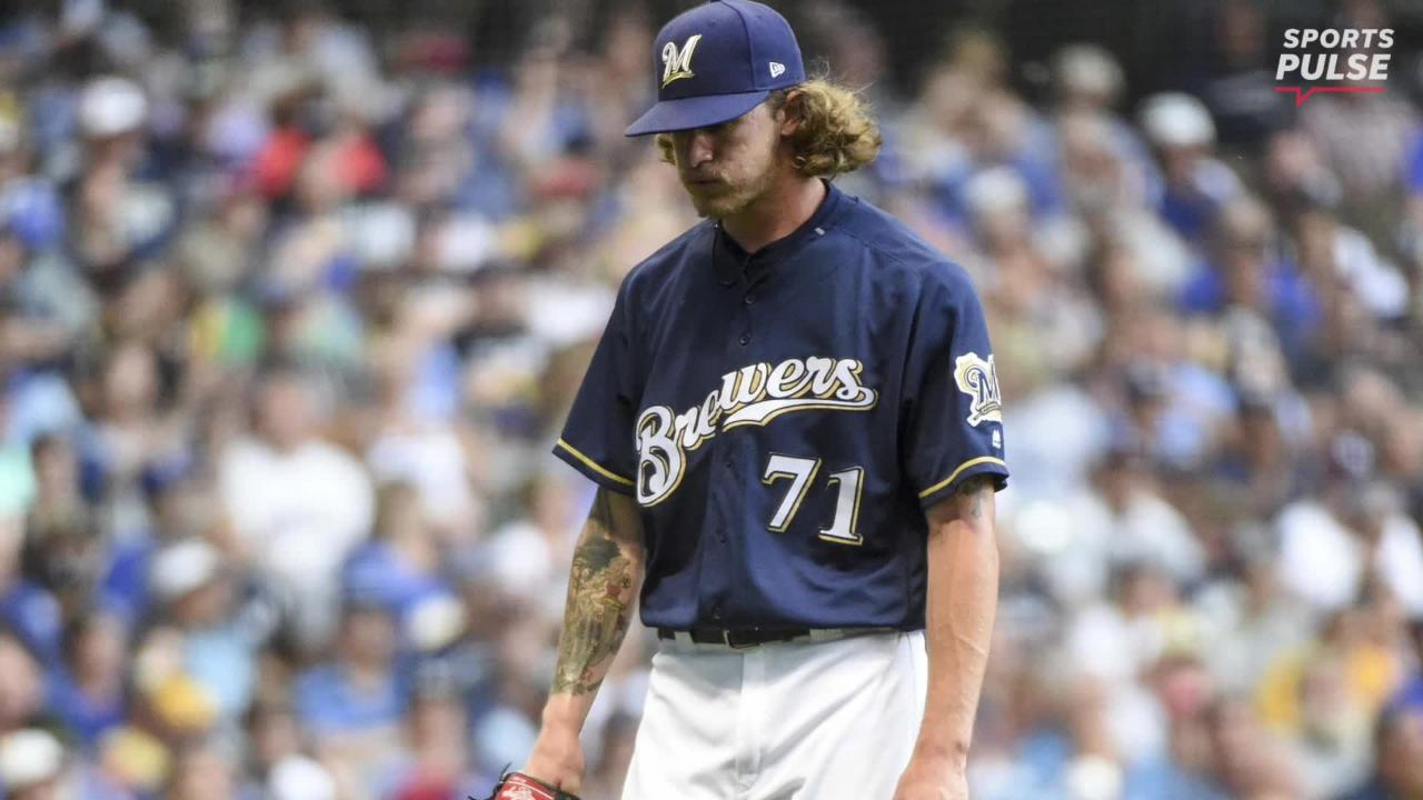 The Milwaukee Brewers All-Star reliever took the mound for the first time since apologizing for past racist, homophobic tweets.