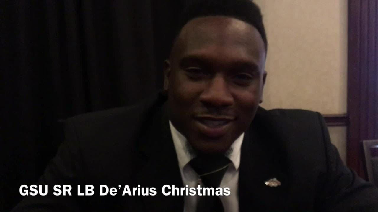 Grambling State senior linebacker De'Arius Christmas lists off the Tigers' biggest rivals and biggest games of the year.