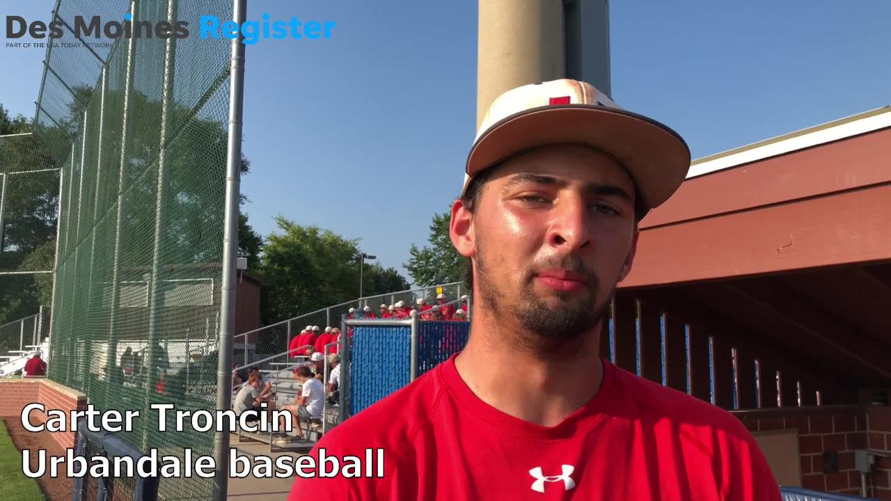 Urbandale's Carter Troncin talks about the J-Hawks 2018 season, and how the 2013 Little League team has played a role in this summer's success.