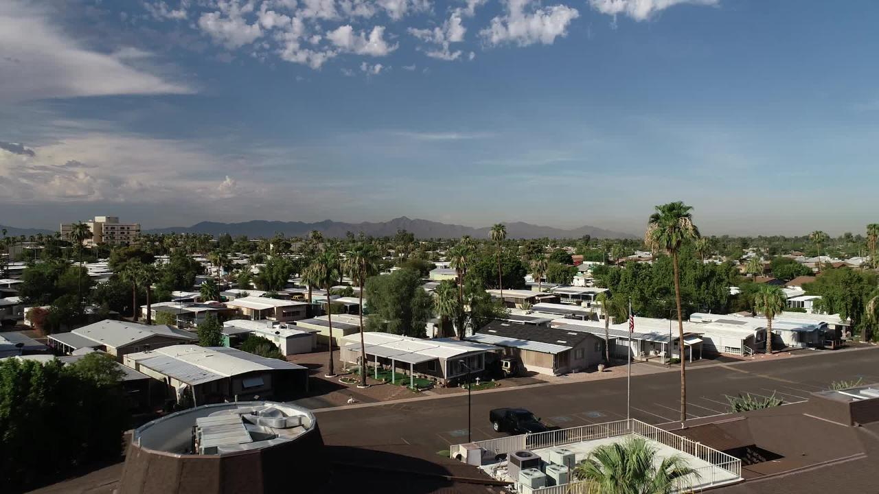 Investors are buying mobile-home parks in record numbers, giving them options to either keep or develop the land on which the mobile homes rest.