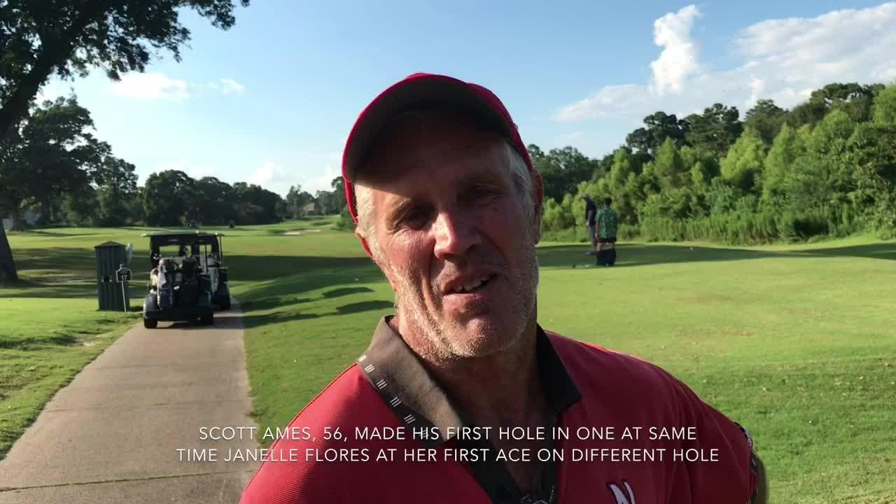Two Pensacola golfers record a hole in one at same time, different holes at Scenic Hills Country Club golf league
