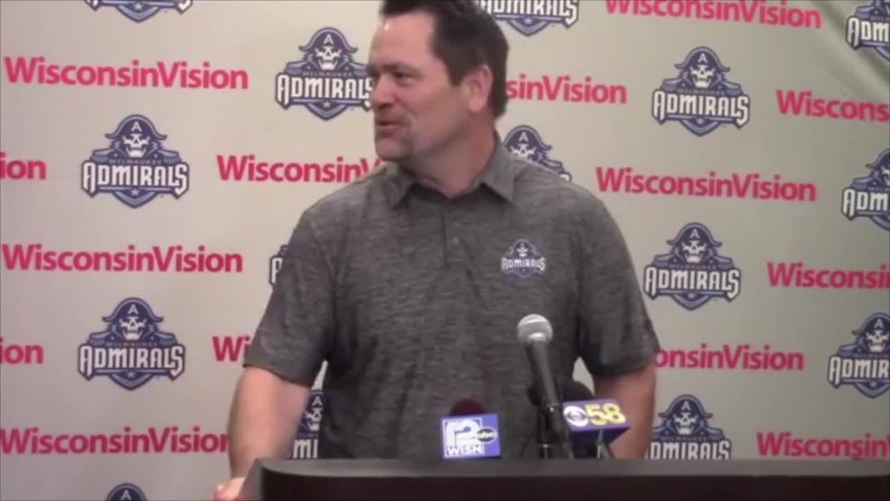 After five seasons as an assistant in the AHL, new Milwaukee head coach Karl Taylor discusses what he knows of the Admirals organization.