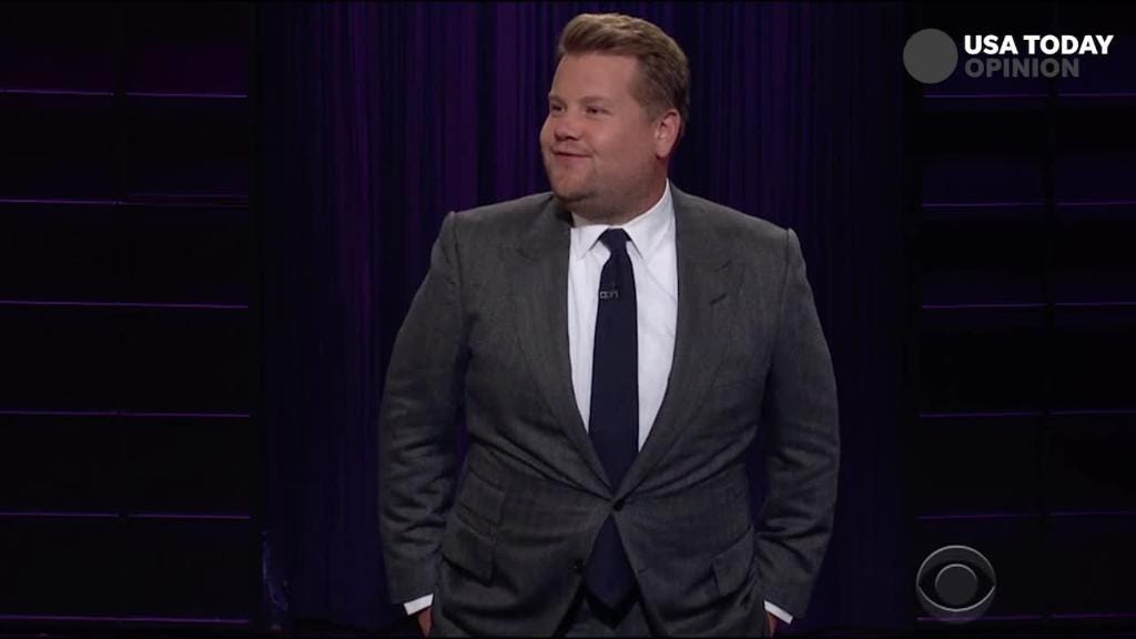 James Corden: Finally, something Americans and Russians can agree on, none of us want Trump