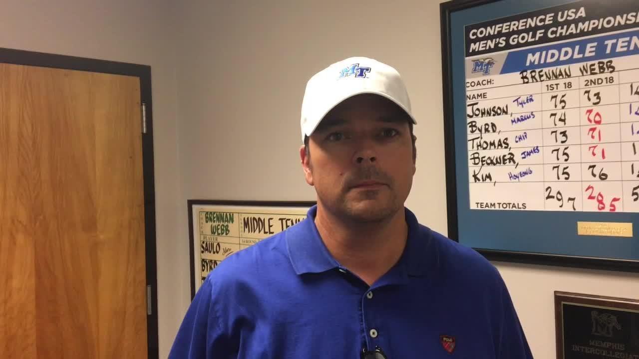 Mark McEntire hired as MTSU men's golf coach