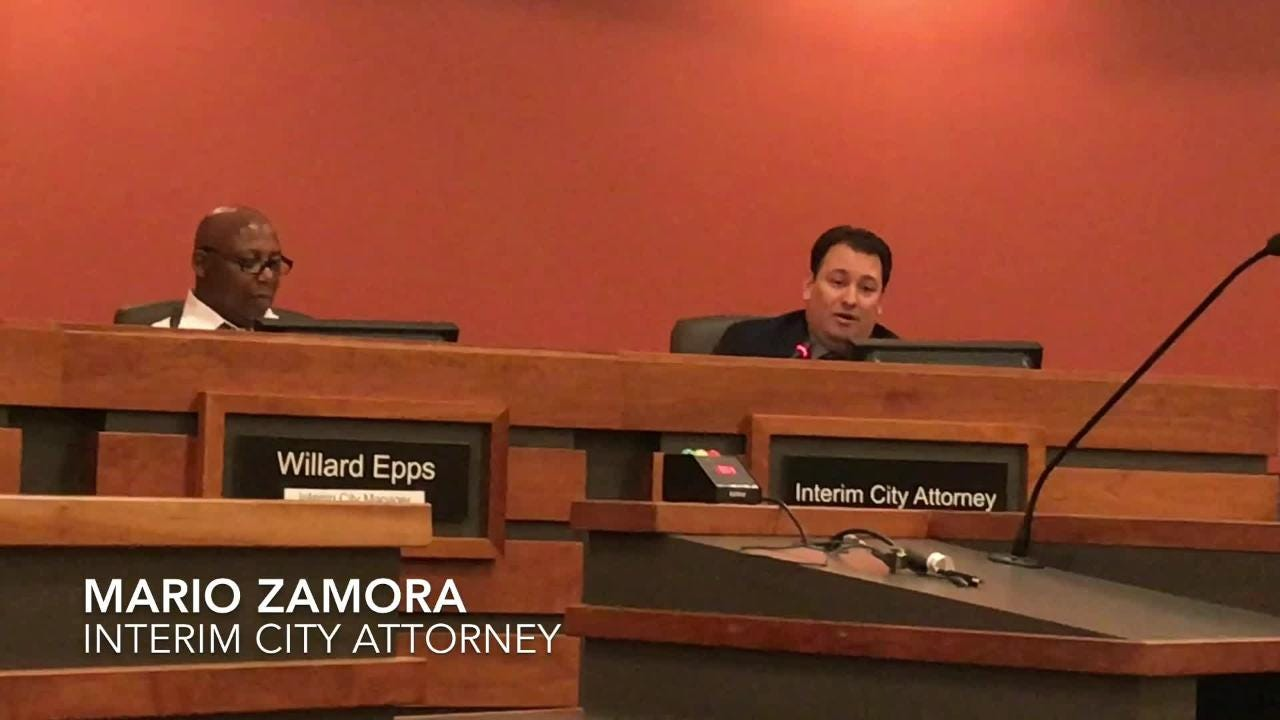 Mario Zamora introduced as interim city attorney in Tulare