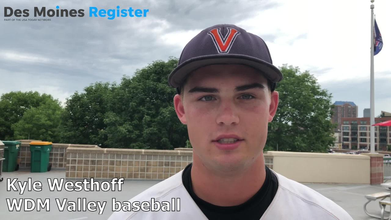 Kyle Westhoff, a senior on the Valley baseball team, knocked in two runs in the Tigers' 5-1 win over Waukee on Wednesday.