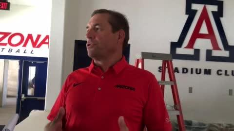 Greg Moore catches up with UA AD Dave Heeke, who discusses plan to sell beer and wine at football games.