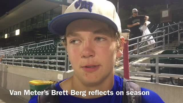 Van Meter ended its baseball season at state Thursday, but Brett Berg thinks the team will be back in the future.