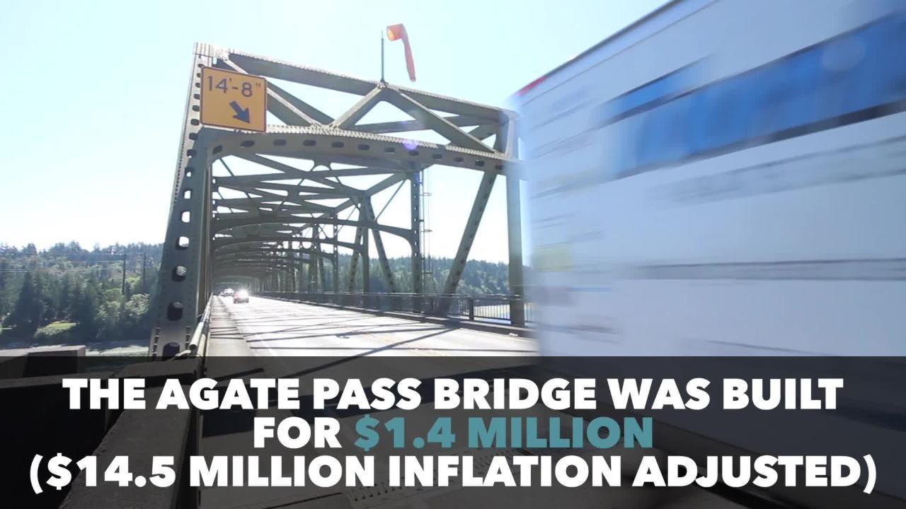 The Agate Pass Bridge, Bainbridge's singular roadway connection to the Kitsap Peninsula, is nearing 70 years old.