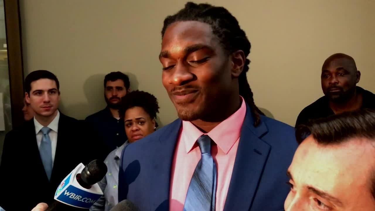 A Knox County jury took less than an hour and a half to find both A.J. Johnson and Michael Williams not guilty of all charges Friday, July 27, 2018.