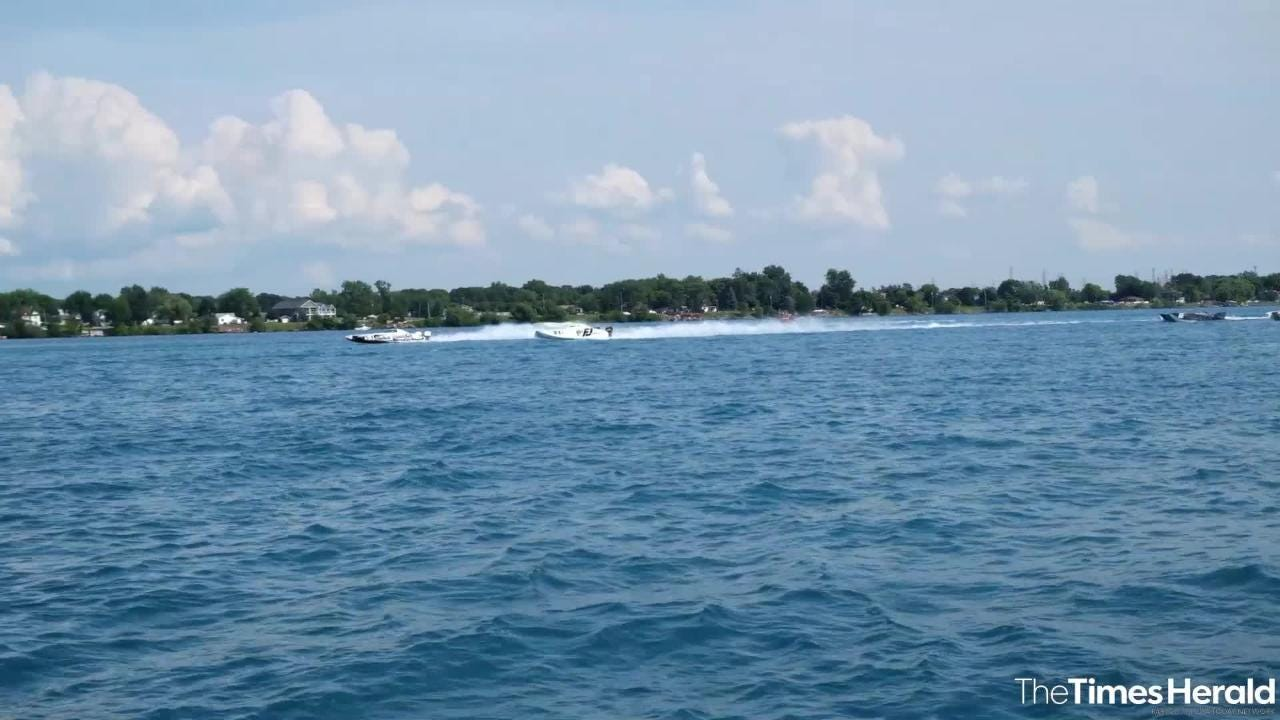 See the starts of the Super Cat, Super Stock, Class 2 and Class 3 races from Sunday's St. Clair River Classic Offshore Powerboat races.