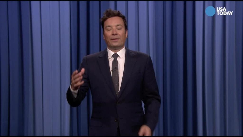 Fallon filters Trump in Best of Late Night