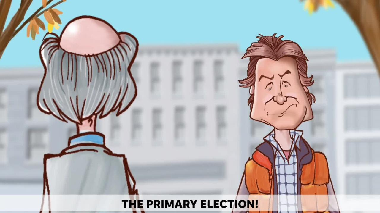 Voting in Michigan's August primary election is critical says Mike Thompson in this animated political cartoon.