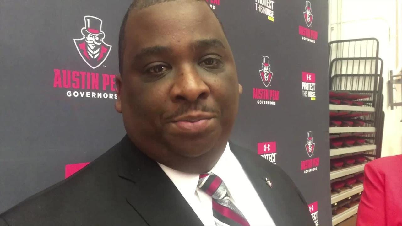 Gerald Harrison was introduced as Austin Peay's 14th Athletic Director