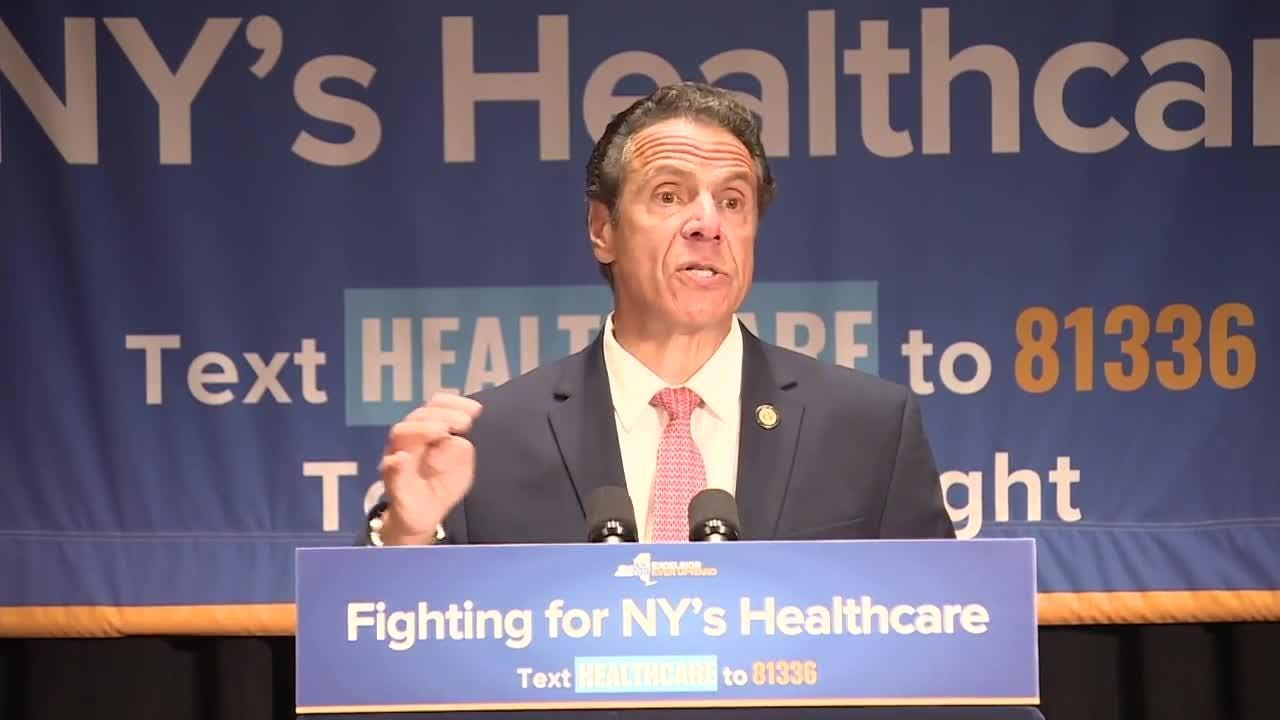 Cuomo: 'We're not going to allow Trump to tear down our health care system'