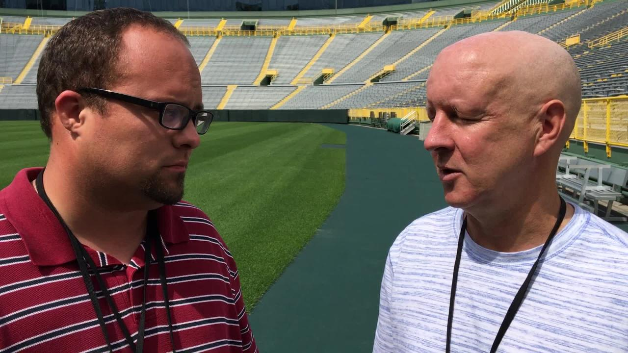 Ryan Wood and Pete Dougherty recap an injury-filled Packers training camp practice on Monday, July 30.
