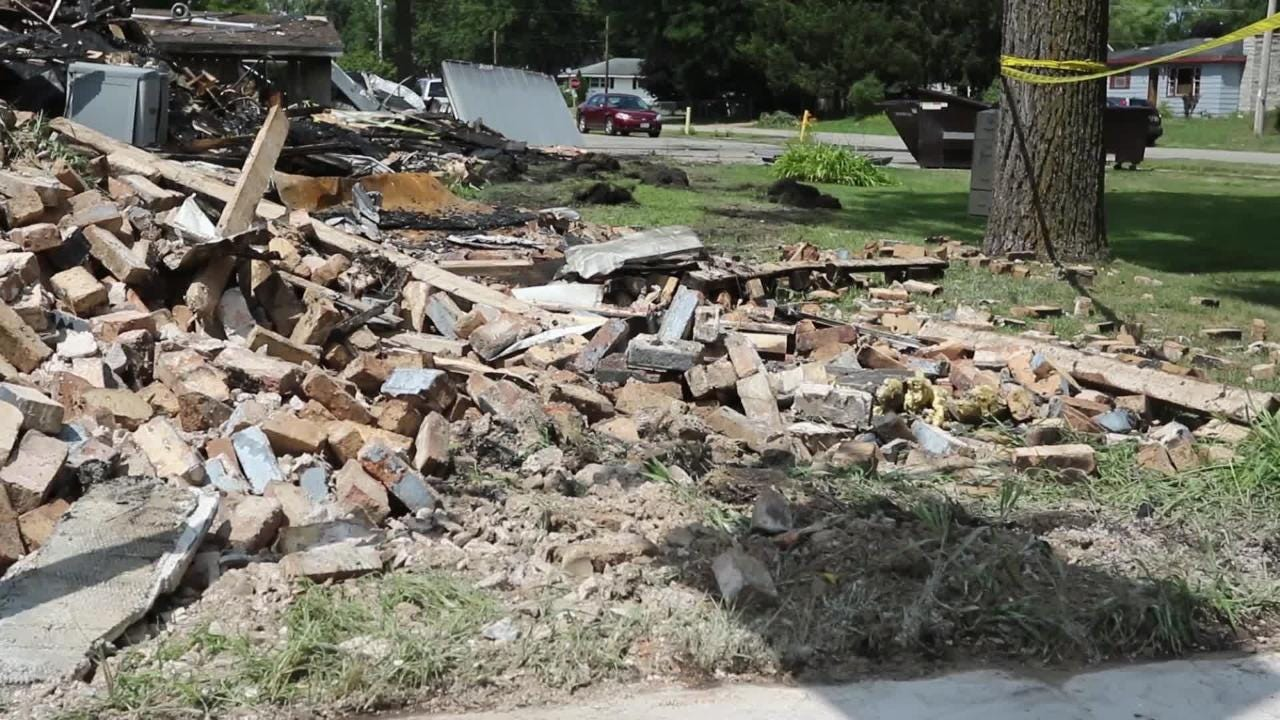 The local Friendship hangout was a total loss after a fire broke out around 1 a.m. It took six hours to put out the blaze.