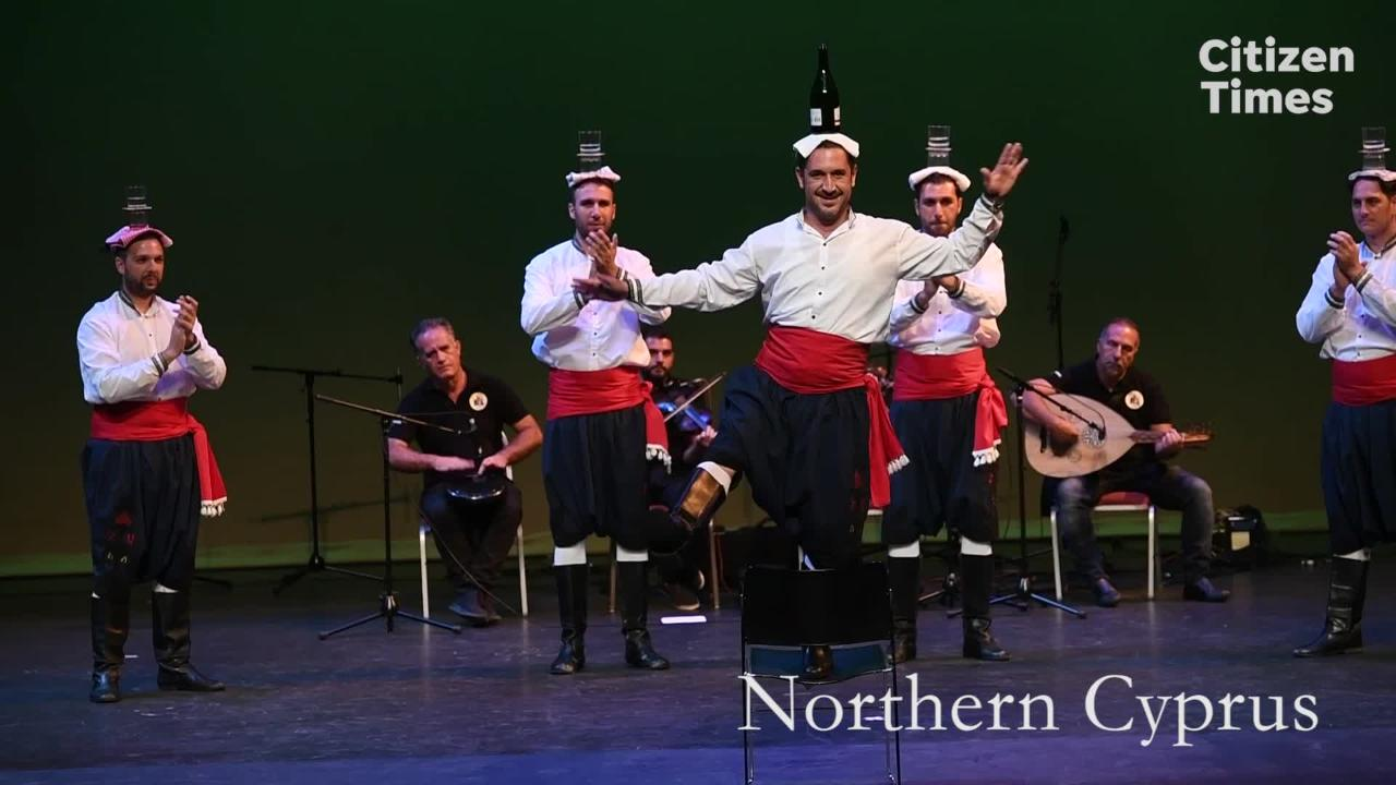 Watch a sampling of the performers from around the world at this year's Folkmoot festival.