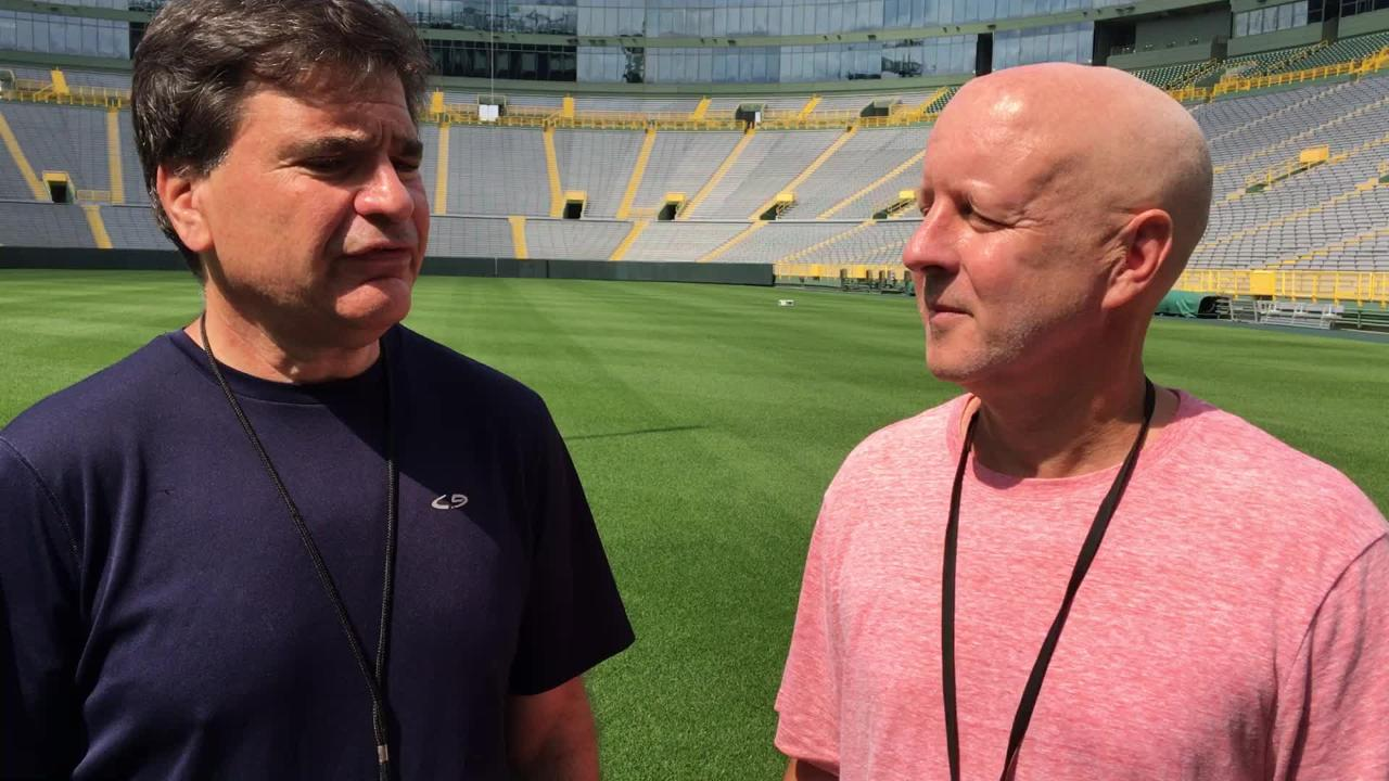Tom Silverstein and Pete Dougherty discuss the Packers' candidates to replace injured Packers ILB Jake Ryan.