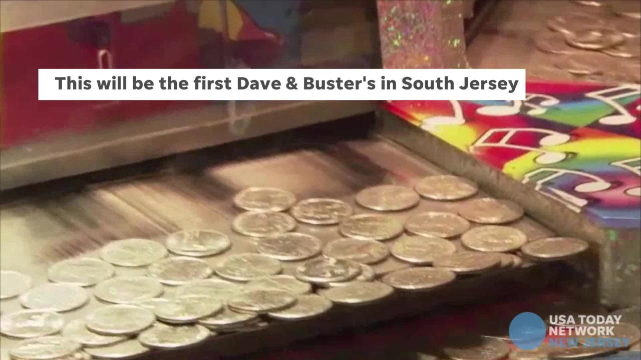 Dave & Buster's is opening a new venue in Gloucester Township