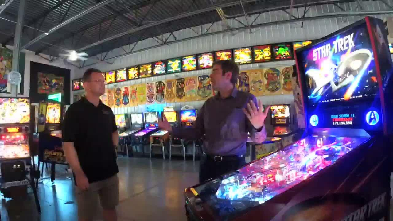 Erik Thoren opened Titletown Pinball this summer to house his collection of machines and to give pinball fans a chance to play in tournaments and leagues.