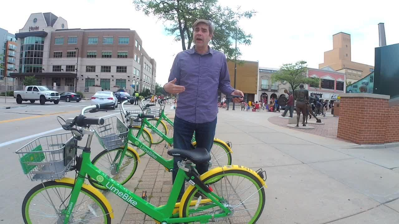LimeBike has launched its bike share program in Green Bay. Here's a guide to using it.