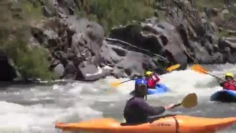 "A rafting trip down the 34-mile ""wild"" section of the Rogue River in Southern Oregon with Rogue River Journeys."