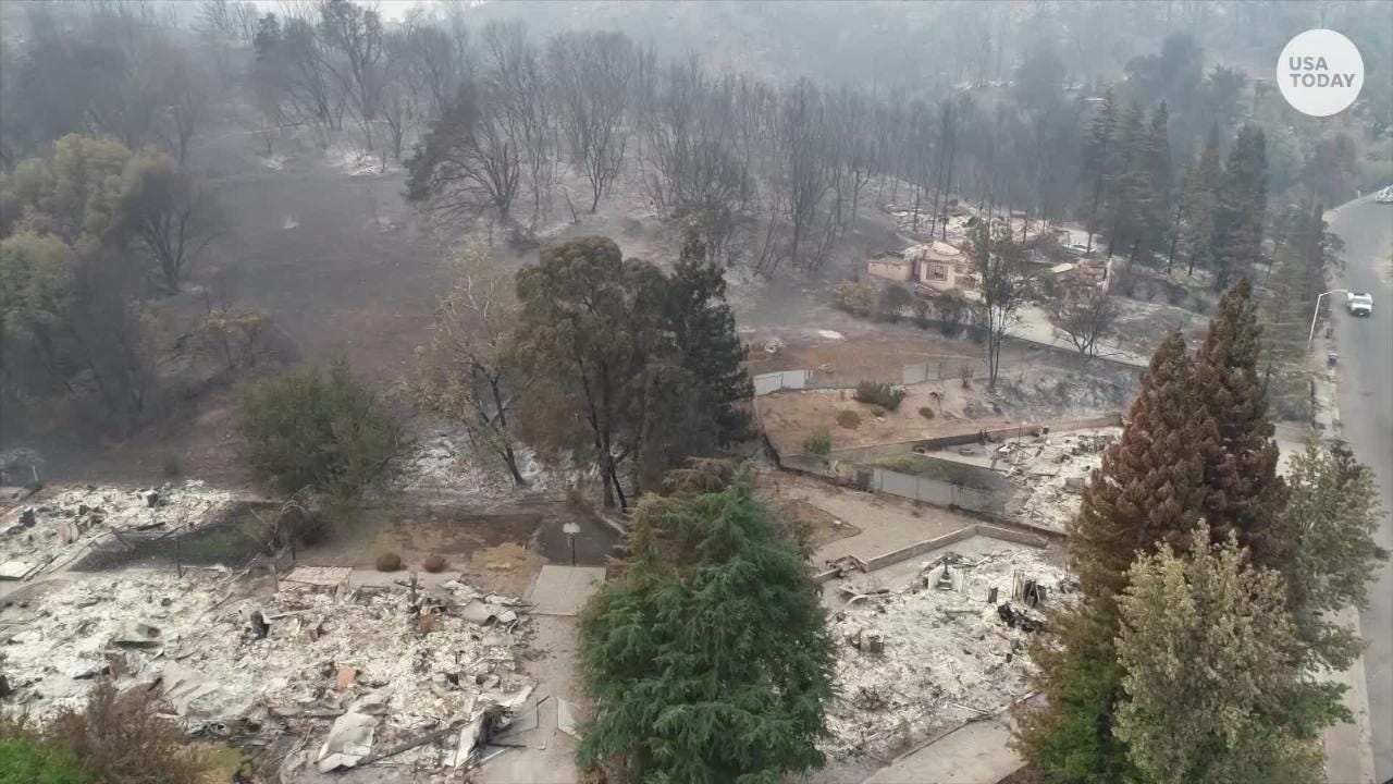 Carr Fire reduces neighborhood to ash