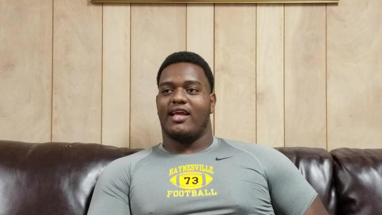 Haynesville's Joseph Evans tells why he chose LSU.