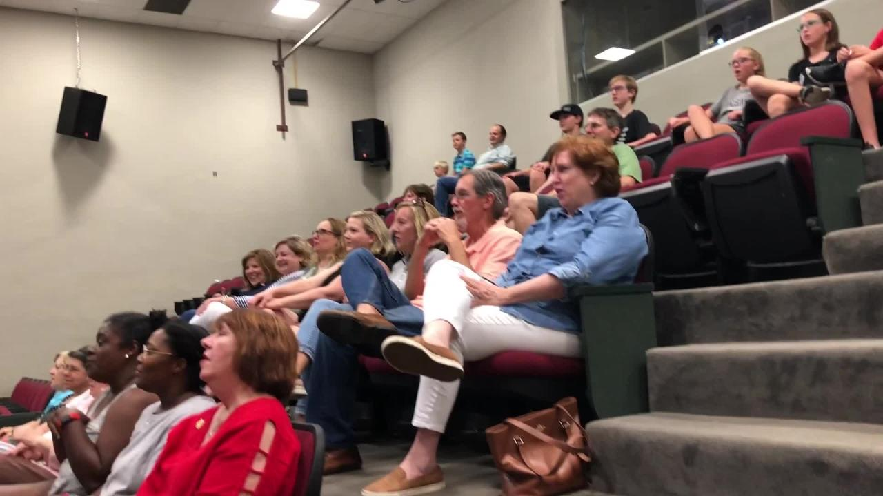 The event kicked off with a singalong at the University of Louisiana at Lafayette
