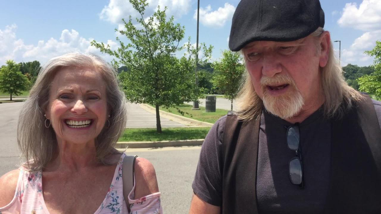 Diana and William Daley of Clarksville voted for Bill Lee in the primary and 'new blood' in general election Thursday