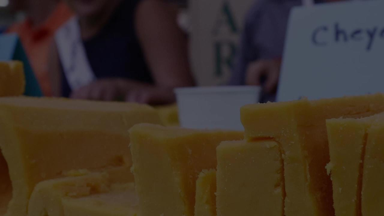 Wisconsin Valley Fair held a cheese carving contest Thursday, August 2, 2018, at Marathon Park in Wausau.